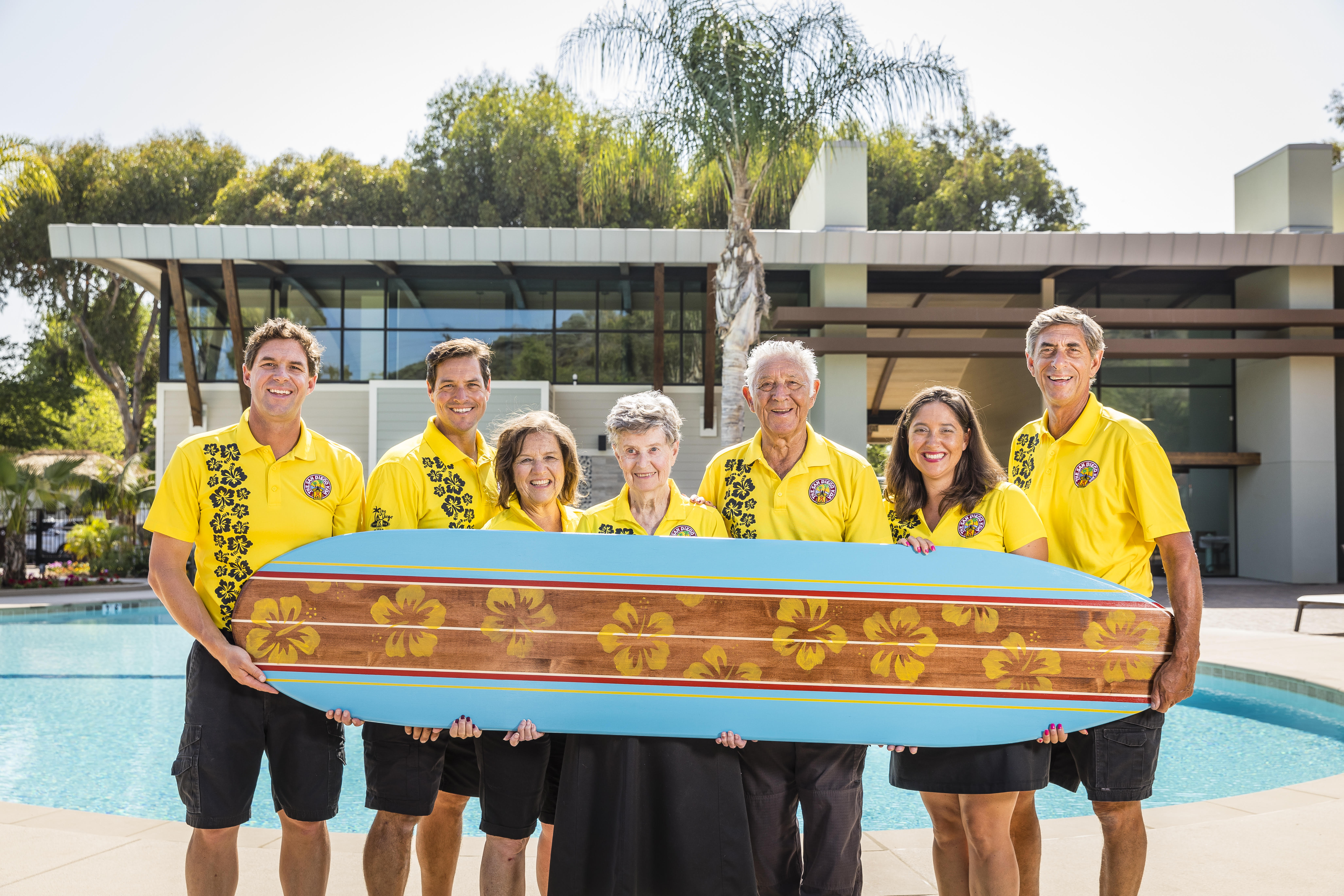 Bell Family 50th Surfboard
